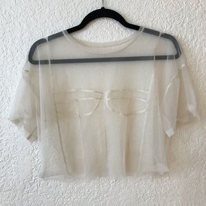 Very cool see through top. ZARA